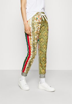Replay - PANTS - Jogginghose - red/green/multicolor