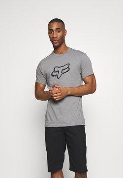 Fox Racing - LEGACY HEAD TEE - T-Shirt print - grey