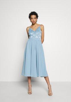 Swing - Cocktailkleid/festliches Kleid - taubenblau