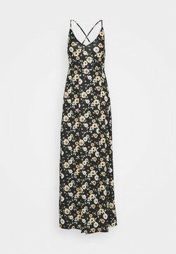 Even&Odd Tall - Maxi-jurk - black/yellow