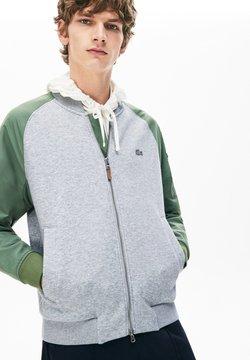 Lacoste - Bomber Jacket - gris chine/vert