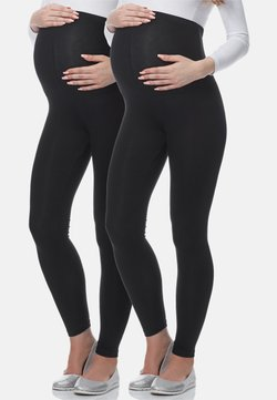 BeMammy - 2 PACK - Legging - schwarz/schwarz