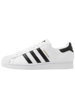 adidas Originals - SUPERSTAR VEGAN - Sneakers - footwear white/core black/green