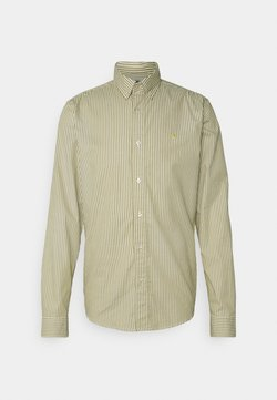 Scotch & Soda - REGULAR FIT STRIPED OXFORD - Hemd - beige