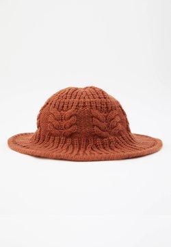 PULL&BEAR - Hattu - brown