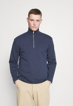 Selected Homme - SLHRELAXCARSON HIGH NECK - Sweatshirt - navy blazer