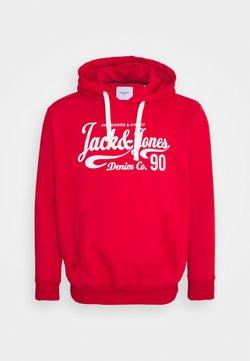 Jack & Jones - JJHEROS HOOD - Sweat à capuche - true red