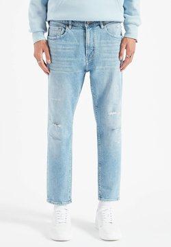 PULL&BEAR - Straight leg jeans - stone blue denim