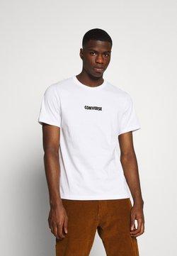 Converse - ALL STAR  ARCHIVE TEE - T-shirt imprimé - white