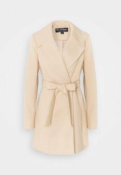 Miss Selfridge - SKATER BELTED ROBE - Classic coat - camel
