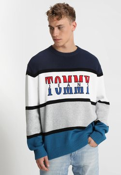 Tommy Jeans - RETRO  - Strickpullover - blue