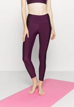 Hunkemöller - SHINE ON LEGGING - Tights - purple