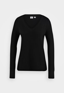 GAP Petite - BELLA - Jersey de punto - true black