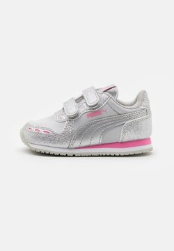 Puma - CABANA RACER GLITZ  - Sneakers - silver/sachet pink