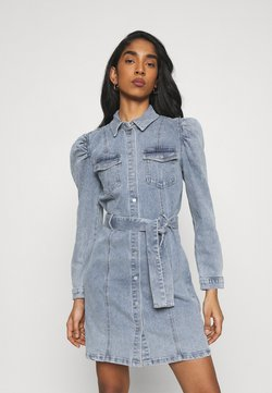 ONLY - ONLMONICA LIFE DRESS - Denim dress - light blue denim