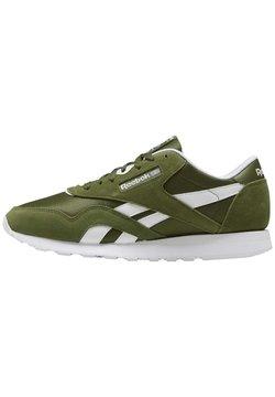 Reebok Classic - CLASSIC NYLON SHOES - Sneaker low - green