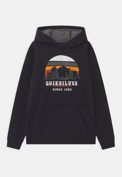 Quiksilver - BIG LOGO YOUTH - Sweatshirt - true black