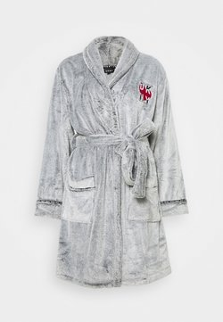 DKNY Intimates - SIGNATURE SLEEP ROBE - Dressing gown - frosted grey