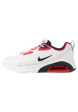 Nike Sportswear - AIR MAX 200 - Sneakers laag - summit white/obsidian/platinum tint/university red