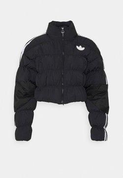 adidas Originals - SHORT PUFFER - Winterjacke - black
