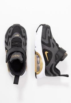 Nike Sportswear - AIR MAX 200 - Matalavartiset tennarit - black/metallic gold/anthracite