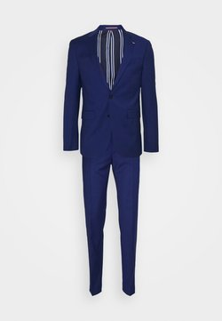 Tommy Hilfiger Tailored - FLEX STRIPE SLIM FIT SUIT - Costume - blue