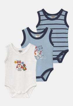 Jacky Baby - ACHSELFORM BOYS 3 PACK - Body - blue/white