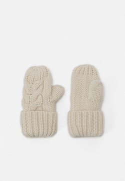 GAP - CABLE UNISEX - Mittens - soft ivory