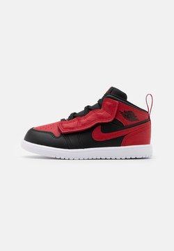 Jordan - 1 MID ALT UNISEX - Indoorskor - black/gym red/white