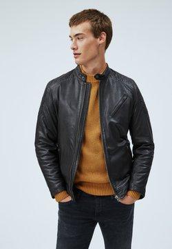 Pepe Jeans - Leren jas - black