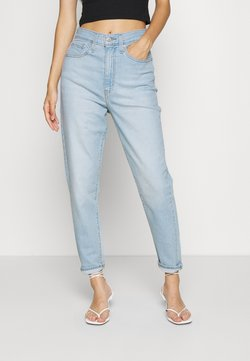 Levi's® - HIGH WAISTED TAPER - Relaxed fit -farkut - light-blue denim