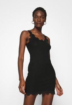 Rosemunde - SILK MIX VINTAGE - Vestido ligero - black