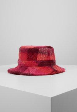 Becksöndergaard - CHECK WOODS BUCKET HAT - Hattu - pink