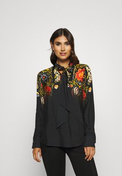 Desigual - BLUS LAUREN DESIGNED BY MR CHRISTIAN LACROIX - Bluse - black