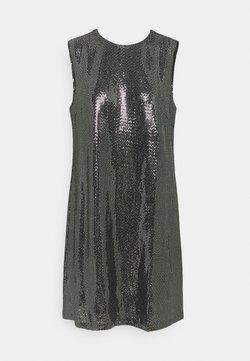 YAS - YASTULAH SEQUIN DRESS - Cocktailkleid/festliches Kleid - silver colour