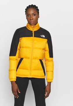 The North Face - DIABLO JACKET - Daunenjacke - summit gold/tnf black