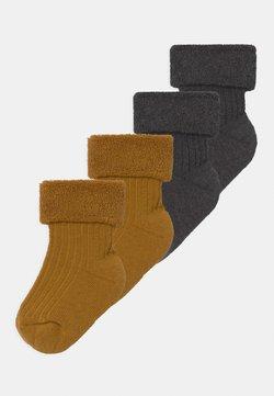 Ewers - 4 PACK - Sokken - grey/mustard yellow