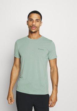 Columbia - MAXTRAIL LOGO TEE - T-Shirt print - aqua tone