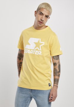 Starter - T-shirt print - buff yellow