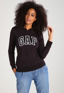 GAP - Kapuzenpullover - true black