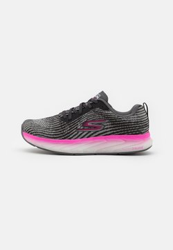 Skechers Performance - FORZA 4 - Chaussures de running stables - black mono/hot melt/hot pink