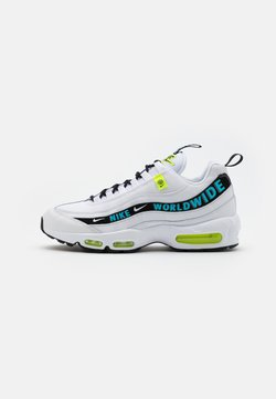 Nike Sportswear - AIR MAX 95 - Baskets basses - white/blue fury/volt/black