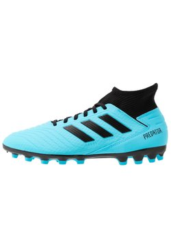 adidas Performance - PREDATOR 19.3 AG - Moulded stud football boots - bright cyan/core black/solar yellow