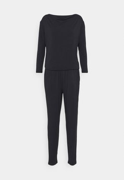 Curare Yogawear - JUMPSUIT WATERFALL - Trainingsanzug - midnight blue