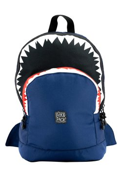 pick & PACK - SHARK - Reppu - blau