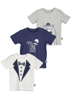 Blue Seven - NB KN T-SHIRT - 3ER PACK - T-shirt print - grey