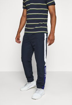 Lacoste Sport - TENNIS PANT - Jogginghose - navy blue/wasp-white-cosmic