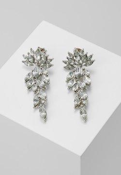 Pieces - PCMARLO EARRINGS KEY - Örhänge - silver-coloured