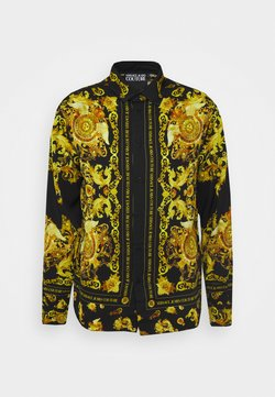Versace Jeans Couture - PANEL GOLD BAROQUE  - Camicia - black
