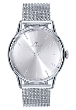 August Berg - Uhr - sunray silver